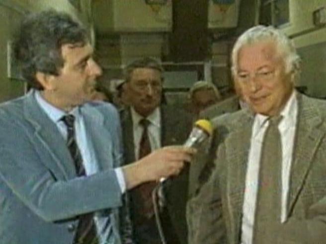 Franco Costa, spadaccino dell'intervista. Stesso stile per Agnelli e la gente comune