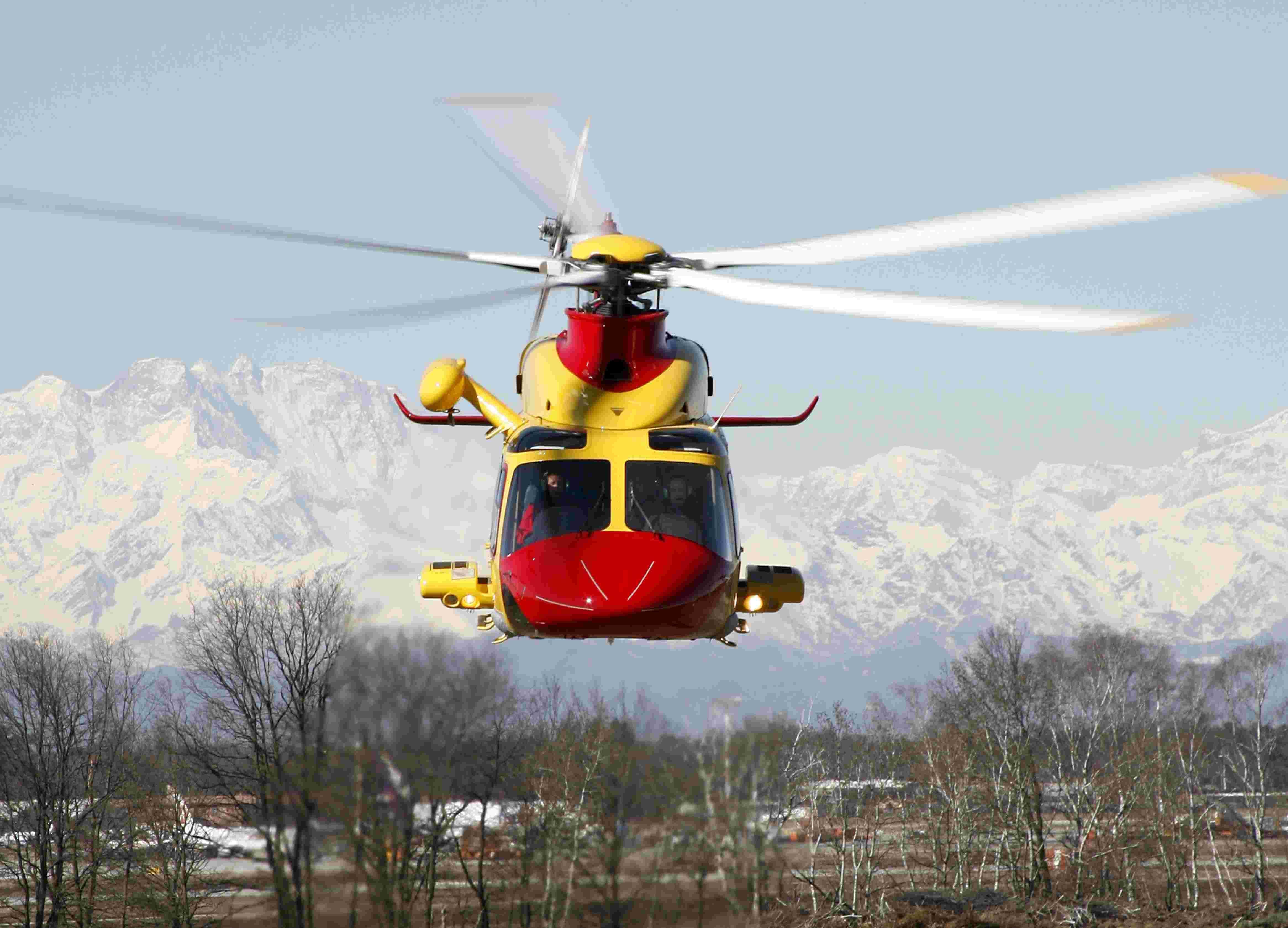 Elicottero Milano : Amianto negli elicotteri dello stato: e sui rischi per la salute