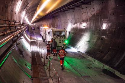 Tav Torino-Lione, le foto del cantiere e del tunnel in costruzione