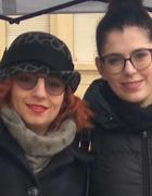 Celeste D'Arrando con la concittadina di Collegno Laura Castelli