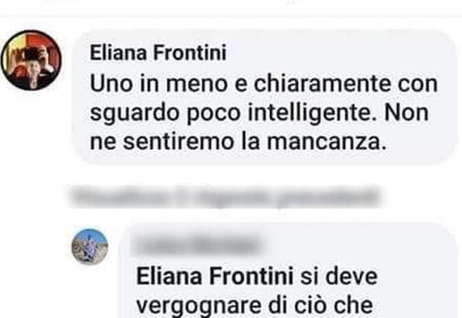Eliana Frontini, sospesa l'insegnante che ha insultato il carabiniere ucciso