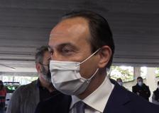 Covid, Cirio: «L'ospedale Valentino diventa centro vaccinale, anche a disposizione delle imprese»