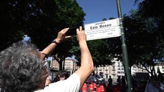 Torino, inaugurati dei giardini in ricordo di Ezio Bosso