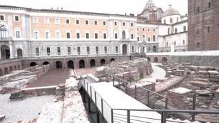 Musei Reali a Torino, restaurati le mura, la fontana e il teatro romano
