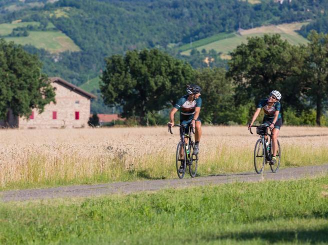 cicloturismo torinese l uomo che fa pedalare gli usa in langa. Black Bedroom Furniture Sets. Home Design Ideas